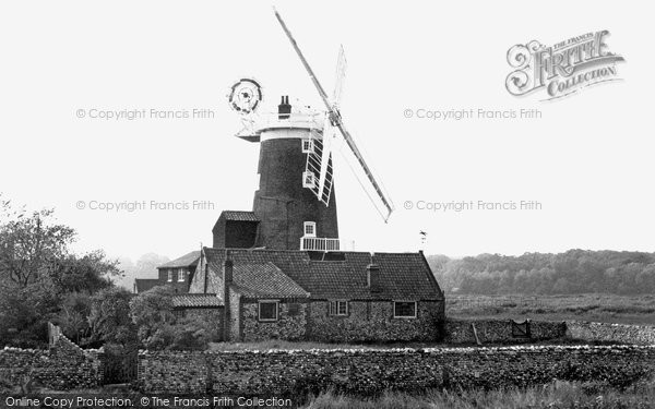 Cley-next-the-Sea,the Mill c1955,Norfolk