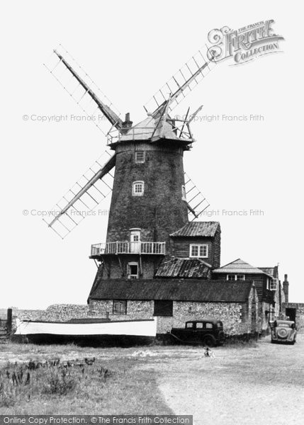 Cley-next-the-Sea,the Old Windmill c1955,Norfolk