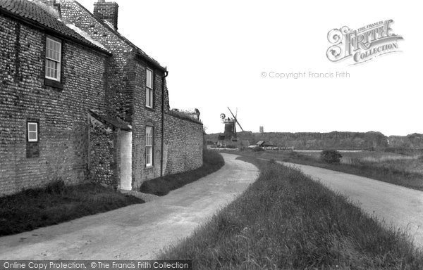 Cley-next-the-Sea,the Windmill c1955,Norfolk