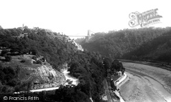 Clifton, Bridge And Observatory 1896