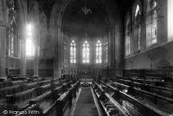 Clifton, College Chapel 1901