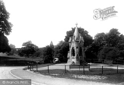 Clifton, Drinking Fountain On The Downs 1896