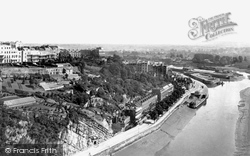 Clifton, From The Bridge 1887