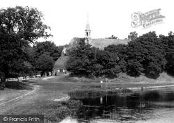 Clifton Hampden, From Bridge 1890