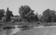 Clifton Hampden, The Church From The Bridge c.1955
