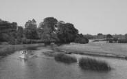 Clifton Hampden, The River From The Bridge c.1955