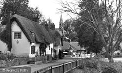 Clifton Hampden, The Village c.1955