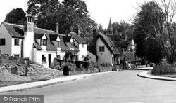 Clifton Hampden, The Village c.1960