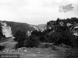 Clifton, On The Downs c.1900