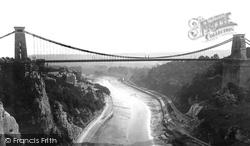 Clifton, Suspension Bridge 1873
