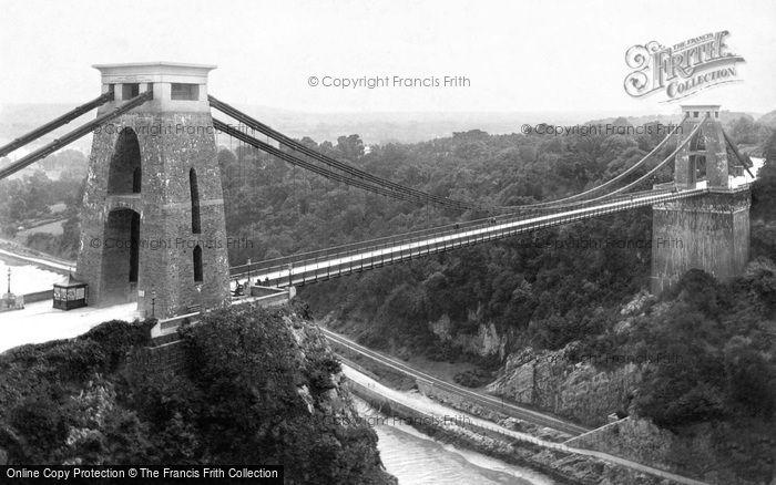 Photo of Clifton, Suspension Bridge 1887