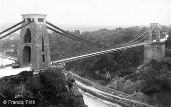 Clifton, Suspension Bridge 1887