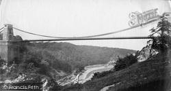 Clifton, Suspension Bridge c.1873