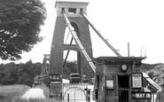 Clifton, Suspension Bridge c1950