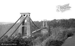 Clifton, Suspension Bridge c.1950