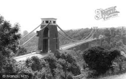 Clifton, Suspension Bridge c.1960