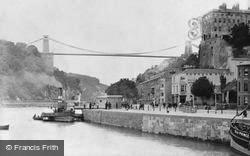 Clifton, The Bridge 1887