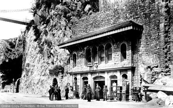 Photo of Clifton, The Clifton Rocks Railway 1896