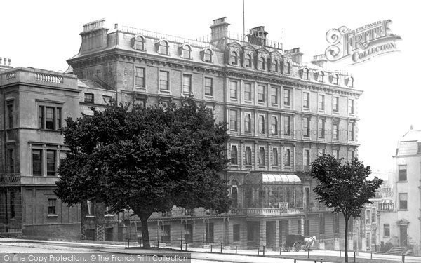 Photo of Clifton, the Downs Hotel 1887
