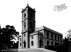 Clifton, The Old Parish Church 1887