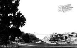Clifton, The Suspension Bridge 1887