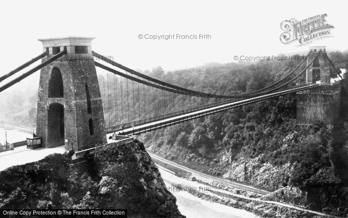 Photo of Clifton, The Suspension Bridge 1887