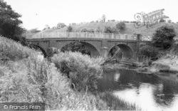 Clifton Upon Teme, Ham Bridge, River Teme c.1965, Clifton Upon Teme