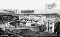 Cliftonville, Pavilion And Winter Gardens 1918