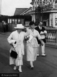 Cliftonville, Promenading 1918