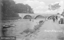 Clitheroe, Brungerley Bridge c.1905
