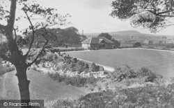 Clitheroe, Castle, Gardens And Bowling Green 1927
