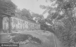 Clitheroe, Castle Grounds 1921