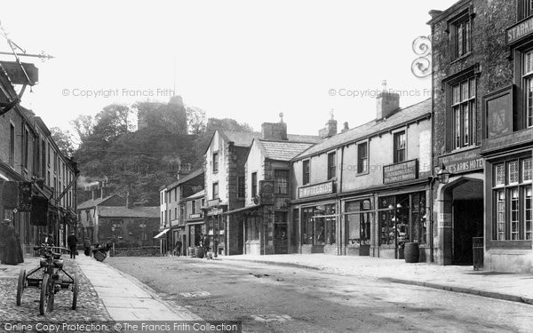 Clitheroe Castle Street And The 1903