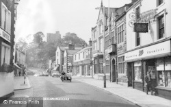 Clitheroe, Castle Street c.1960