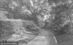 Clitheroe, Castle, The Gardens 1927