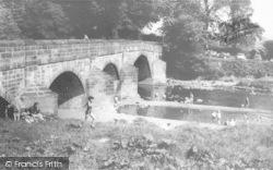 Clitheroe, Edisford Bridge c.1965