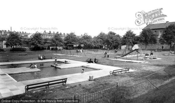 Photo of Clitheroe, Recreation Ground c1960