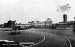 Clitheroe, The Girls Grammar School c.1960