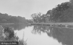 Clitheroe, The River c.1955