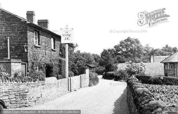 Clophill, Back Street c1955