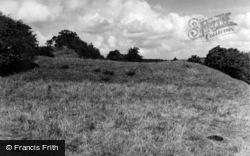 Clophill, Cainhoe Castle 1952