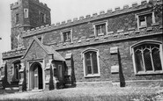 Clophill, the Church c1960