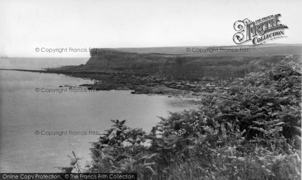 Photo of Cloughton, Cloughton Wyke c.1955