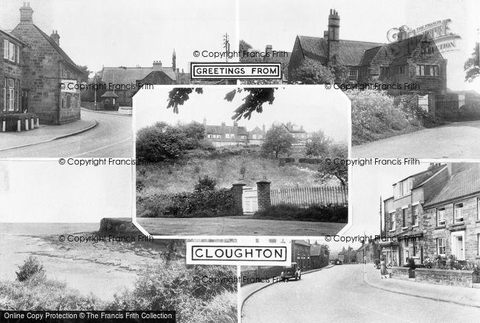 Photo of Cloughton, Composite c.1955