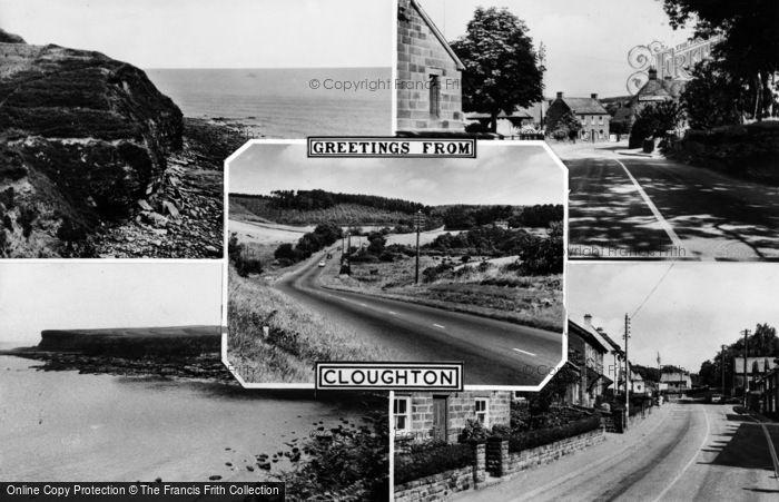 Photo of Cloughton, Composite c.1960