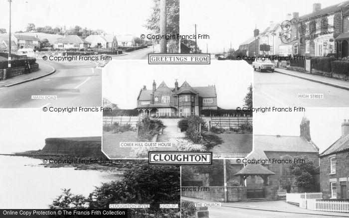 Photo of Cloughton, Composite c.1965
