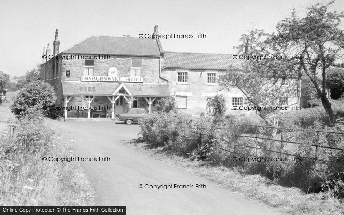 Photo of Cloughton, Hayburnwyke Hotel c.1955