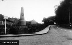 Cloughton, Memorial Corner c.1955
