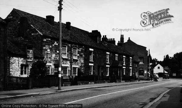 Photo of Cloughton, The Village c.1955