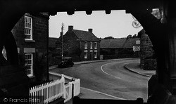 Cloughton, View From The Lychgate c.1955